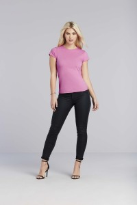 T-SHIRT-FEMME-COL-ROND-SOFTSTYLE--GI6400L
