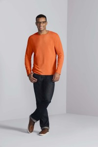 T-SHIRT-HOMME-MANCHES-LONGUES-SOFTSTYLE--GI64400