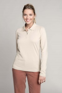 POLO-MANCHES-LONGUES-FEMME-KARIBAN--K244
