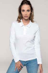 POLO-JERSEY-MANCHES-LONGUES-FEMME--K247