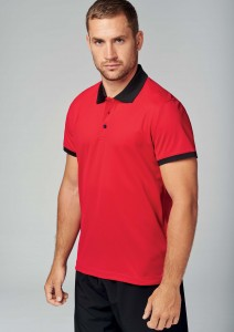 Polo-piqué-performance-homme--PA489