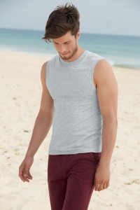 T-shirt-Homme-sans-manche-VALUEWEIGHT-(61-222-0)--SC61222