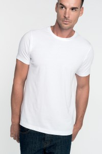 T-Shirt-col-rond-manches-courtes-homme--K369
